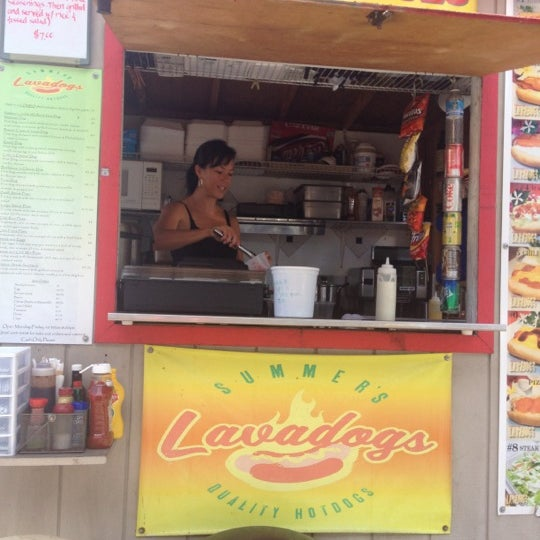 Photo taken at Summer's Lava Dogs by Radford N. on 8/9/2012
