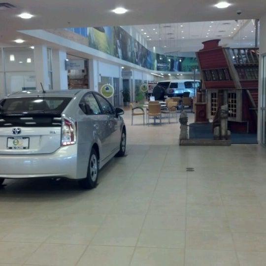 Photo taken at Toyota of El Cajon by Rebecca R. on 5/11/2012