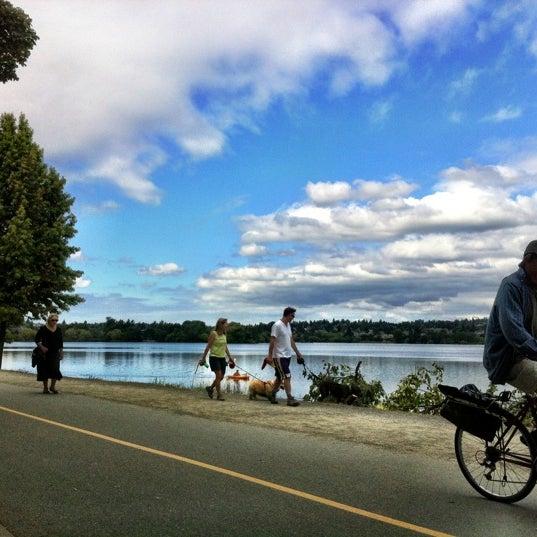 Photo taken at Green Lake Boathouse by Erik B. on 8/8/2012