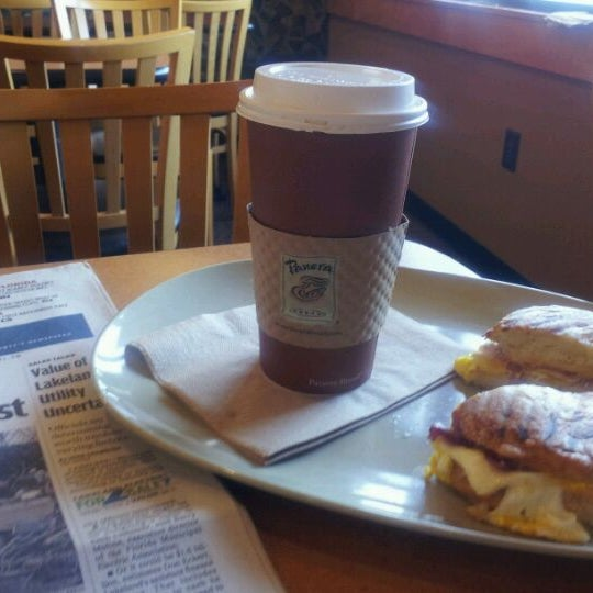 Photo taken at Panera Bread by Kevin M. on 3/4/2012