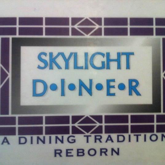 Photo taken at Skylight Diner by David K. on 3/9/2012