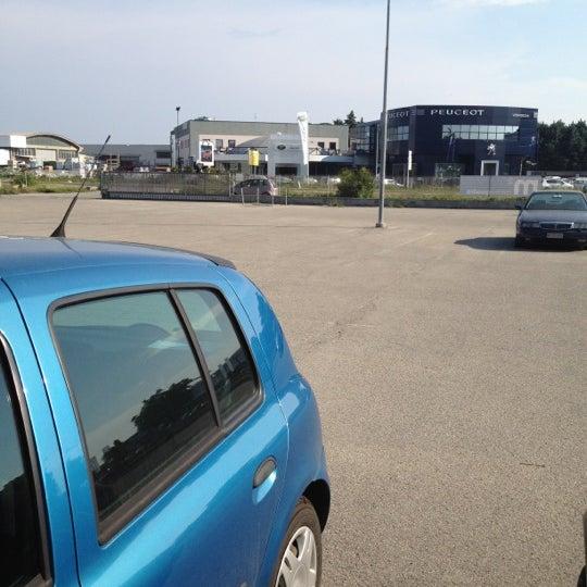 Photo taken at Parcheggio Via Sassonia by Namer M. on 5/31/2012