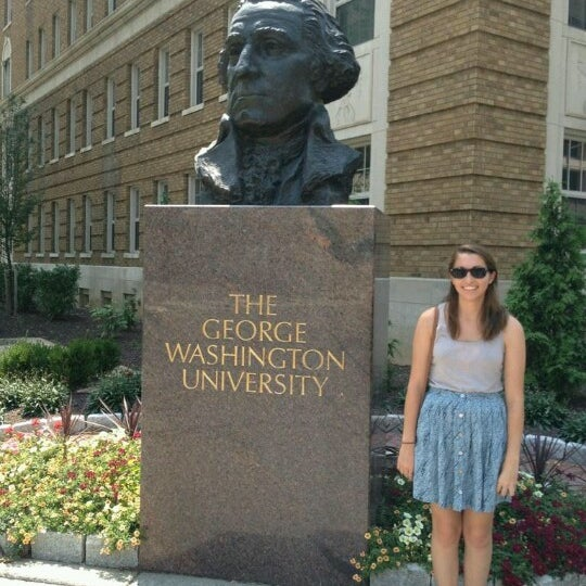 Photo taken at The George Washington University by Cassie C. on 7/26/2012
