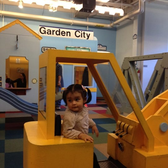 Photo taken at Long Island Children's Museum by Erika P. on 5/19/2012