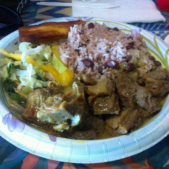 Photo taken at Mama Jamaica's Kitchen by Andrew S. on 7/27/2012