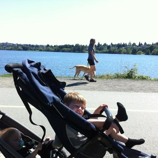 Photo taken at Green Lake Boathouse by Erik B. on 7/5/2012