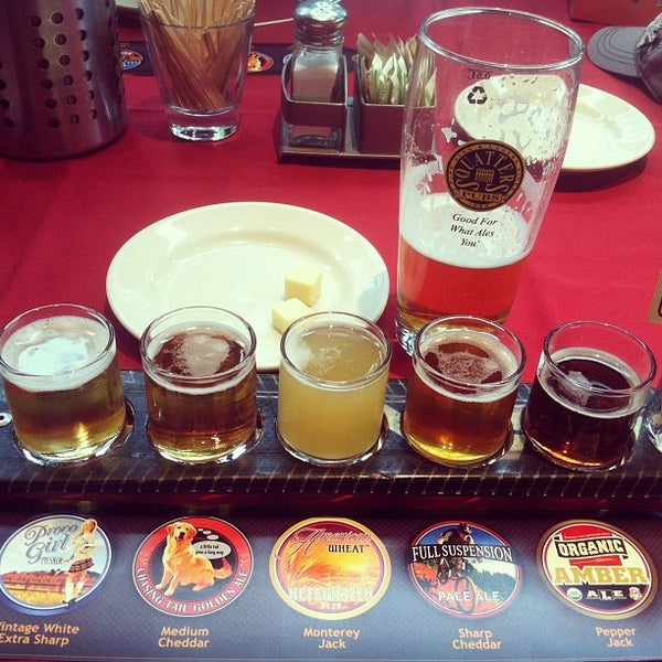 Photo taken at Squatters Pub Brewery by Squatters P. on 7/23/2012