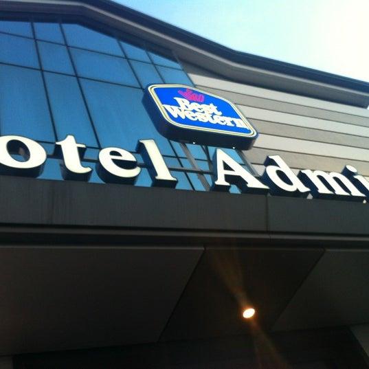 Foto scattata a Best Western Hotel Admiral da Joon-Ha I. il 7/31/2012