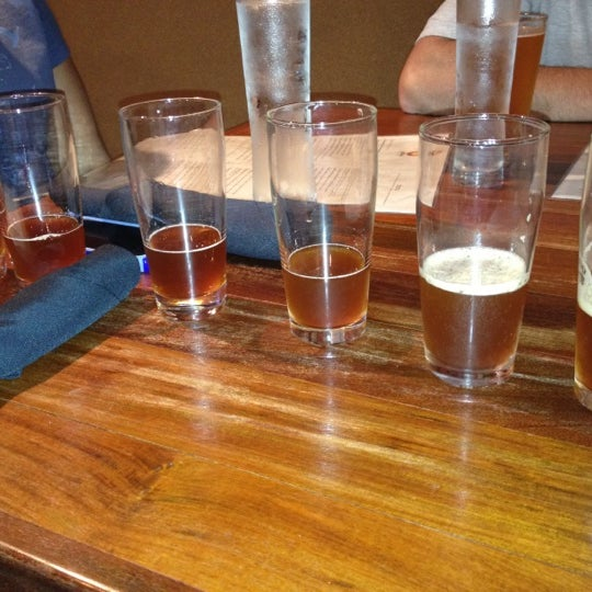 Photo taken at 5 Seasons Brewing by Heather on 5/12/2012