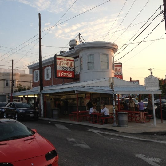 Photo taken at Pat's King of Steaks by David S. on 6/20/2012