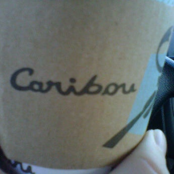 Photo taken at Caribou Coffee by Danielle N. on 2/18/2012