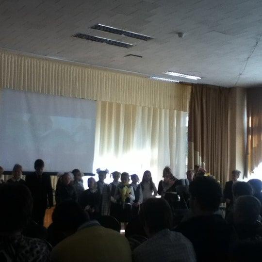 Photo taken at Школа №1249 by Kira B. on 9/1/2012