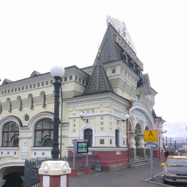 Photo taken at Железнодорожный вокзал Владивостока / Vladivostok Railway Station by Aleksandr V. on 8/21/2012