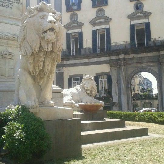 Photo taken at Piazza dei Martiri by Maurizio I. on 8/1/2012