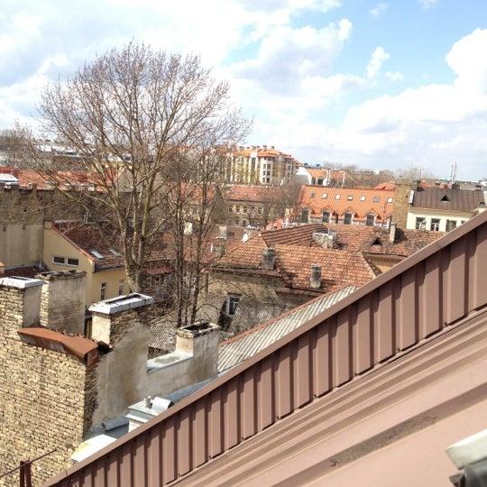Photo taken at Comfort Hotel Vilnius by Sasha B. on 4/21/2012