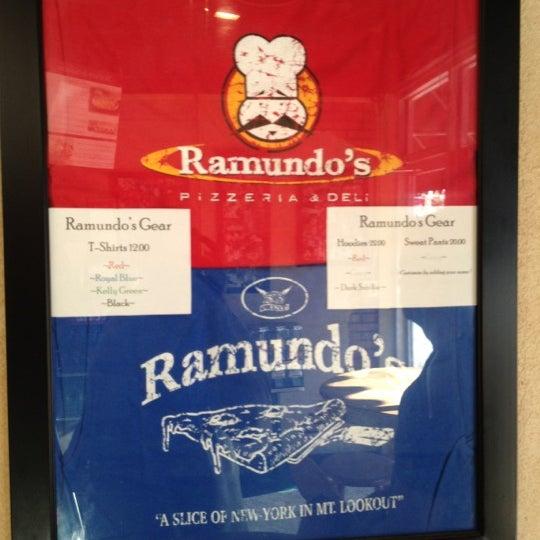 Photo taken at Ramundo's Pizza by Yon P. on 5/18/2012