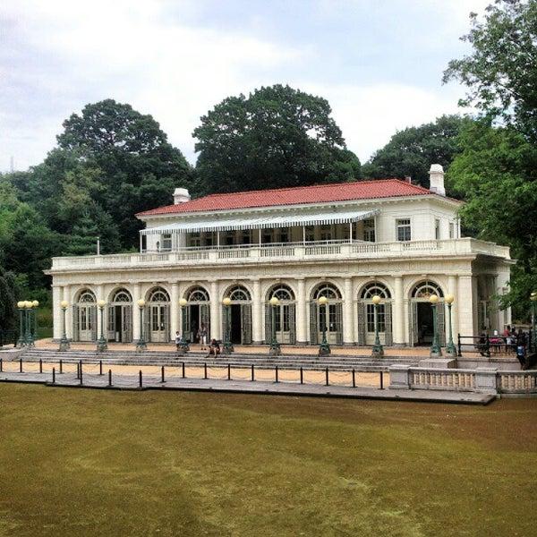 Photo taken at Prospect Park Boathouse & Audubon Center by Merlin W. on 7/15/2012