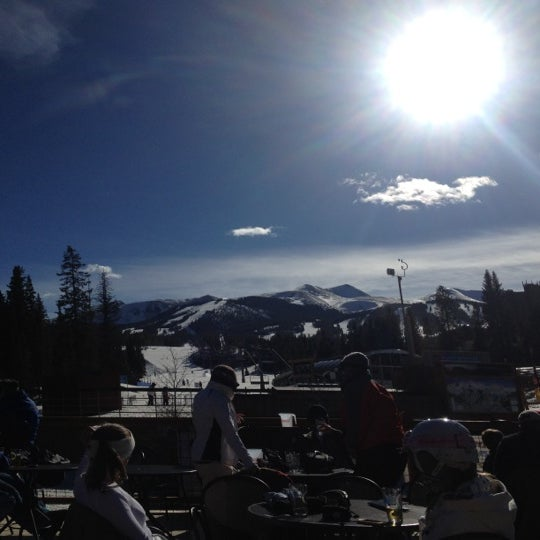 Photo taken at The Maggie at Peak 9 Base by Rachel H. on 3/21/2012