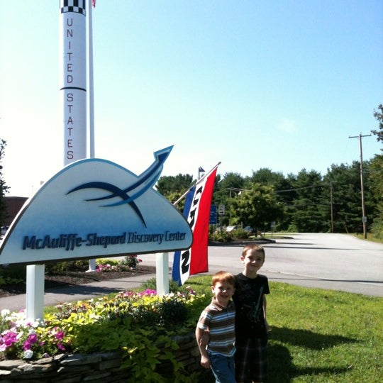 Photo taken at McAuliffe-Shepard Discovery Center by Eric R. on 8/22/2012