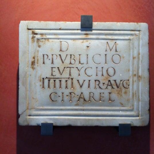 Photo taken at Musée de l'Arles antique by Isabelle N. on 4/6/2012