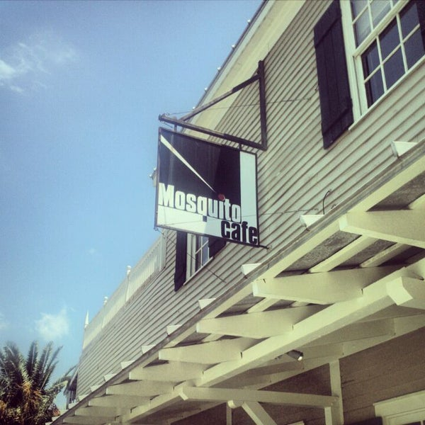 Mosquito Cafe Galveston Dinner Menu