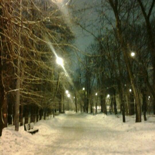 Снимок сделан в Щемиловский детский парк пользователем Deza K. 2/24/2012