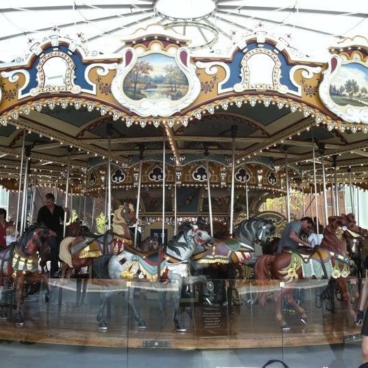 Photo taken at Jane's Carousel by Myhong C. on 4/24/2012