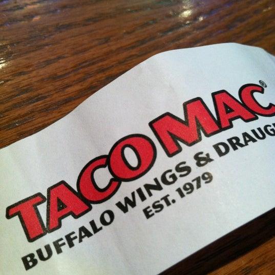 Photo taken at Taco Mac by Blake H. on 3/10/2012