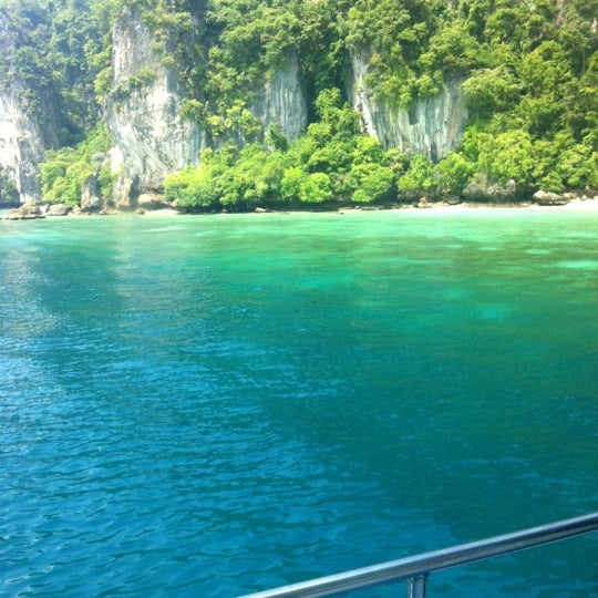 Photo taken at Phi Phi Island by Kittipan V. on 8/11/2012