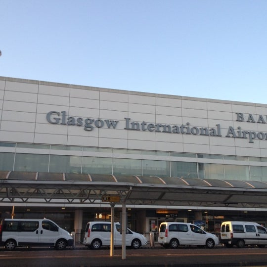 how to get to glasgow airport
