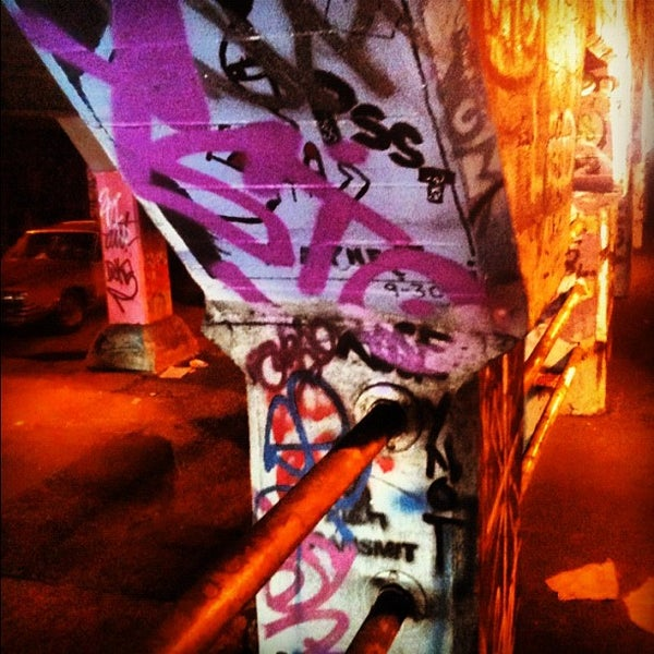 Photo taken at Krog Street Tunnel by DIRTY on 5/31/2012