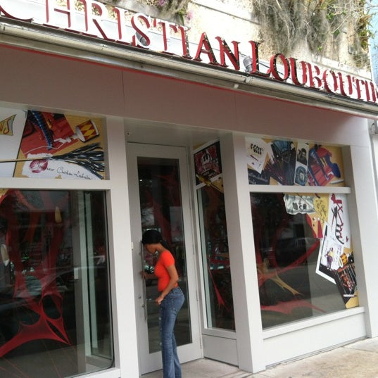 Photo taken at Christian Louboutin by TOR D. on 2/14/2012