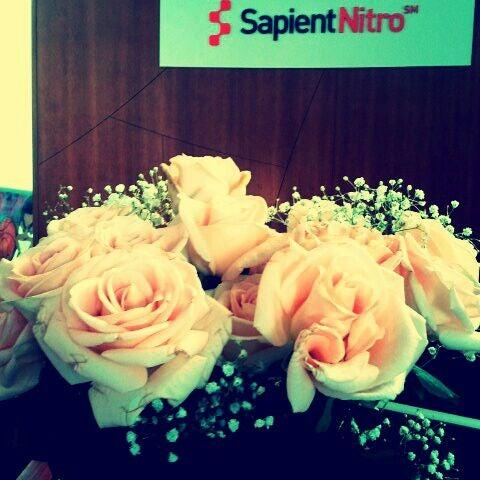 Photo taken at SapientNitro by Dee N. on 2/14/2012