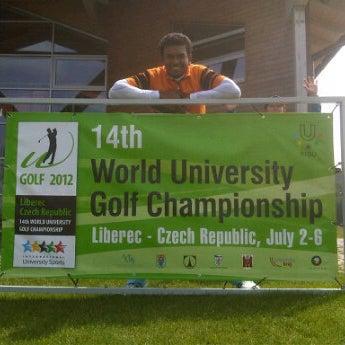 Photo taken at Ypsilon Golf Resort Liberec by Syarif Y. on 7/2/2012