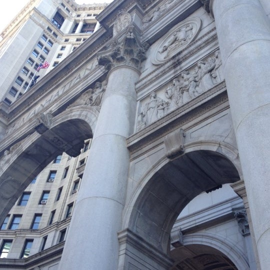 Photo taken at NYC Municipal Building by Steven on 6/16/2012