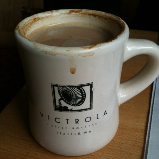 Photo taken at Victrola Cafe and Roastery by Caitlin L. on 3/26/2012