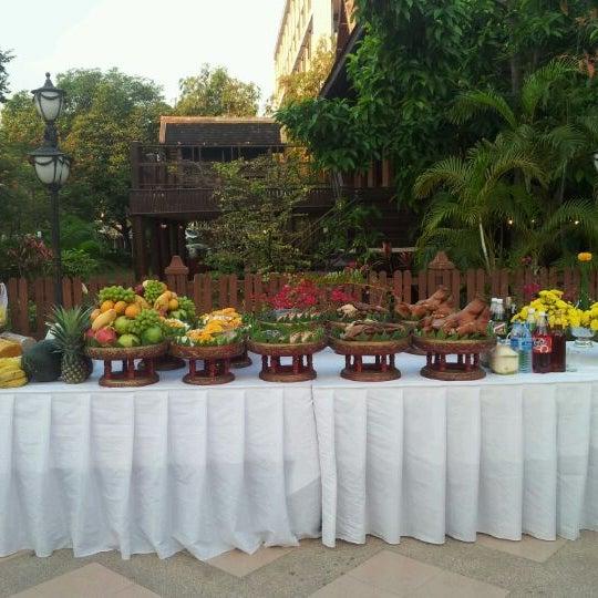 Photo taken at Chiang Mai Rajabhat University by Kittiphol R. on 2/14/2012