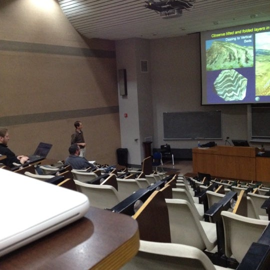 Photo taken at UWM Lapham Hall by Jason C. on 3/13/2012
