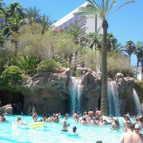 Photo taken at Flamingo GO Pool by Stephanie M. on 6/29/2012