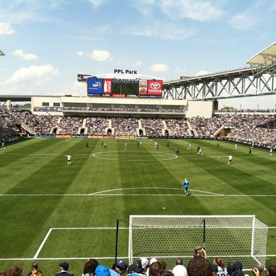Photo taken at Talen Energy Stadium by Kevin C. on 5/13/2012