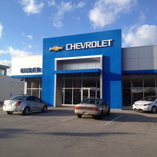 Photo taken at Huber Chevrolet by Craig W. on 3/3/2012