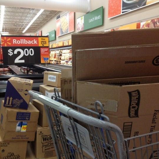 Photo taken at Walmart Supercenter by @jason_ on 6/7/2012