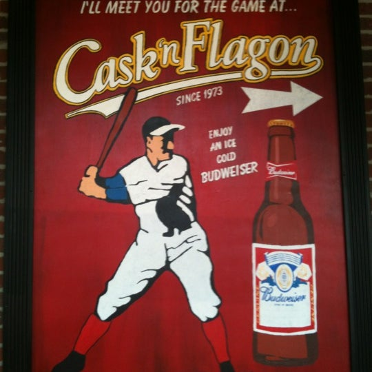 Photo taken at Cask 'n Flagon by Brian Z. on 9/12/2012