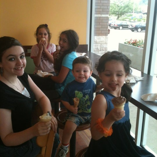 Photo taken at Mitchell's Ice Cream by Sara R. on 7/14/2012