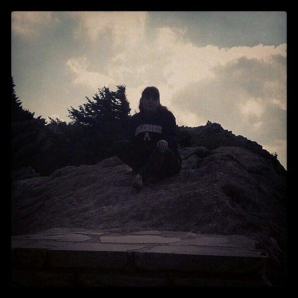 Photo taken at Grandfather Mountain by Amanda W. on 9/13/2012