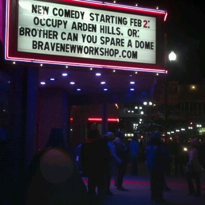 Photo taken at Brave New Workshop Comedy Theatre by Steve J. on 2/12/2012