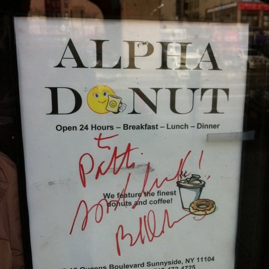 Photo taken at Alpha Donuts by Moo N. on 2/4/2012