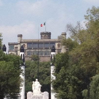 Photo taken at Bosque de Chapultepec by Rita N. on 8/5/2012