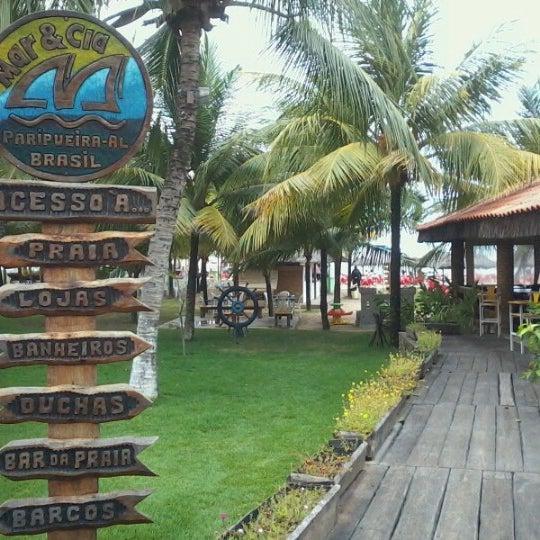 Foto tirada no(a) Praia de Paripueira por Franciely T. em 7/2/2012