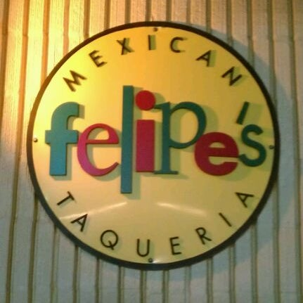 Photo taken at Felipe's Mexican Taqueria by Ralph D. on 3/16/2012